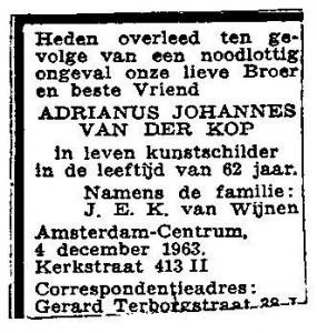 Willem Carel van der Kop (9)